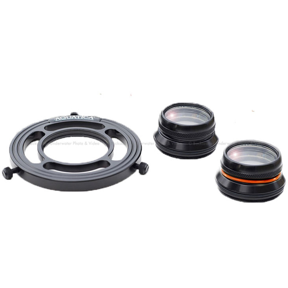 Aquatica Close Up Kit (holder with +5 & +10 Wet Close up lenses