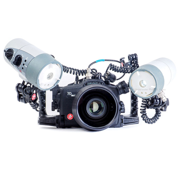 Aquatica A7DMKII Underwater Housing with Ikelite's TTL System for Canon 7D Mark II Digital SLR