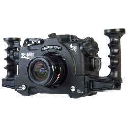 Aquatica AE-M1 Mk II Underwater Housing for Olympus OM-D E-M1 II Mirrorless Camera
