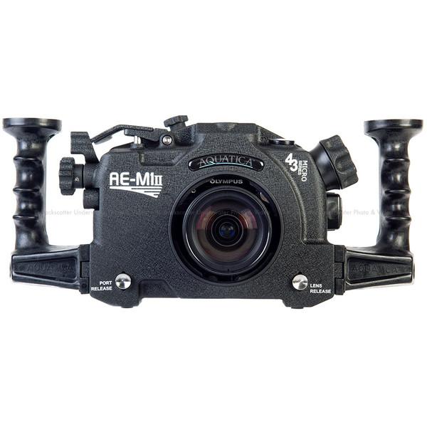 Aquatica AE-M1 Mk II Underwater Housing for Olympus OM-D E-M1 II Mirrorless Camera