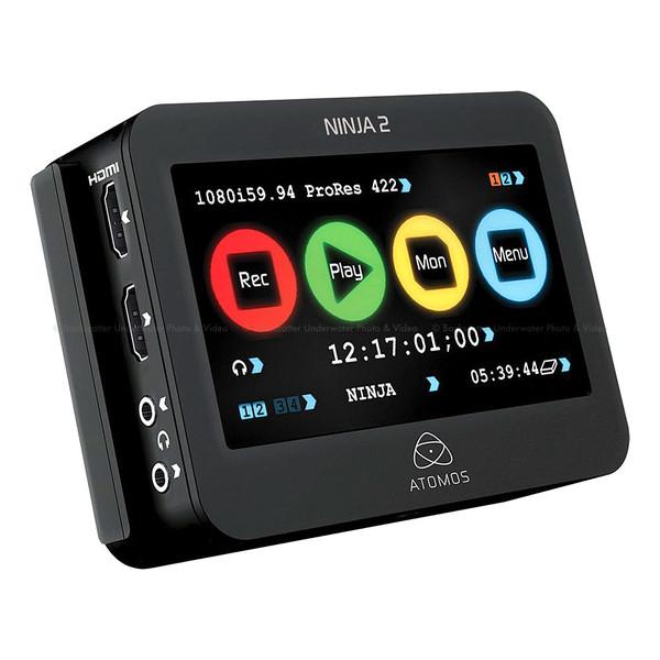 Atomos Ninja-2 Camera Mounted Recorder Monitor & Deck For HDMI Cameras and DSLRs