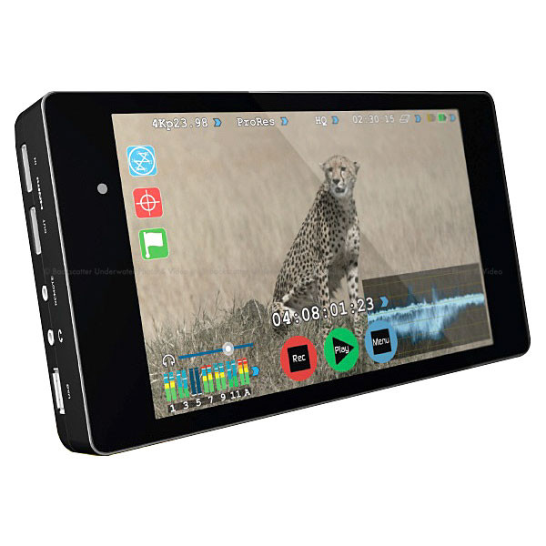 Atomos Shogun 4K External Recorder and 7 inch Monitor