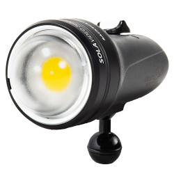 Backscatter Sola 3600+ Underwater Video Light with Dome Diffuser