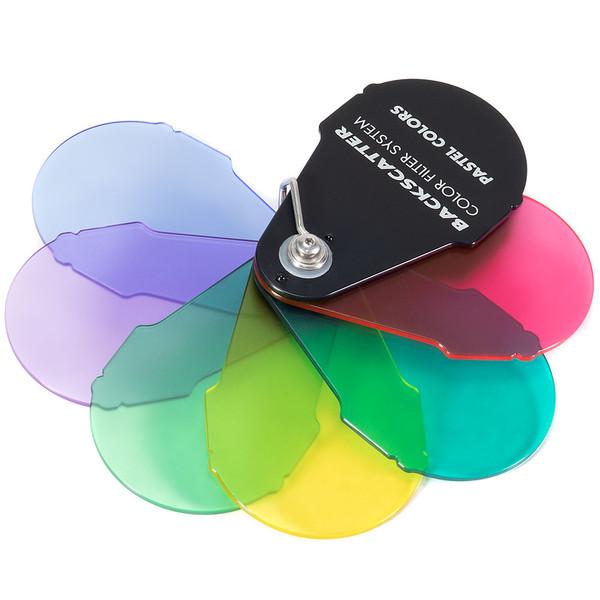 Backscatter Color Filter System--Pastel Colors