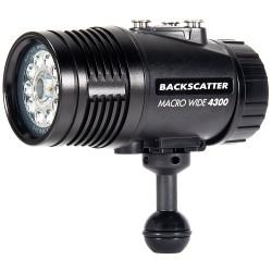 Backscatter Macro Wide 4300 Underwater Video Light MW-4300