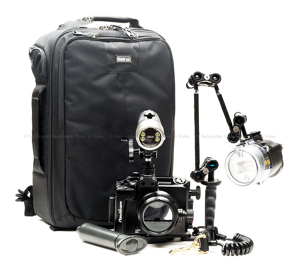 Backscatter Nauticam NA-A6500 Housing, Port, Strobe and Light Package