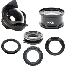 Backscatter Wet-Mate Lens Package for PEN Housings