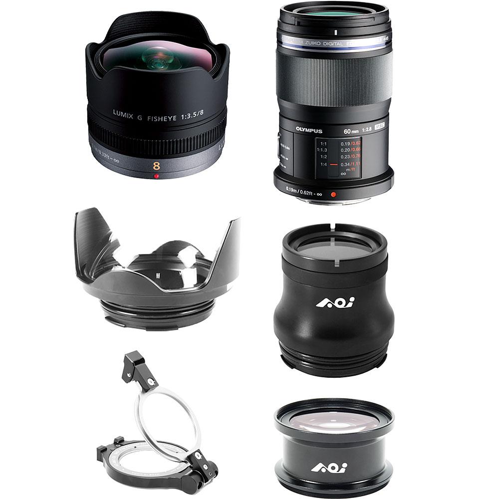 Backscatter Professional Lens Package for PEN Housings