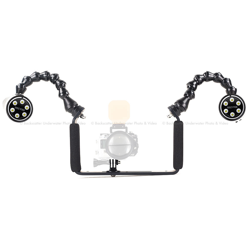 Backscatter Sola 2500 Dual Video Light Package