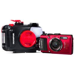 Olympus Underwater Digital Camera Housings - PT Series