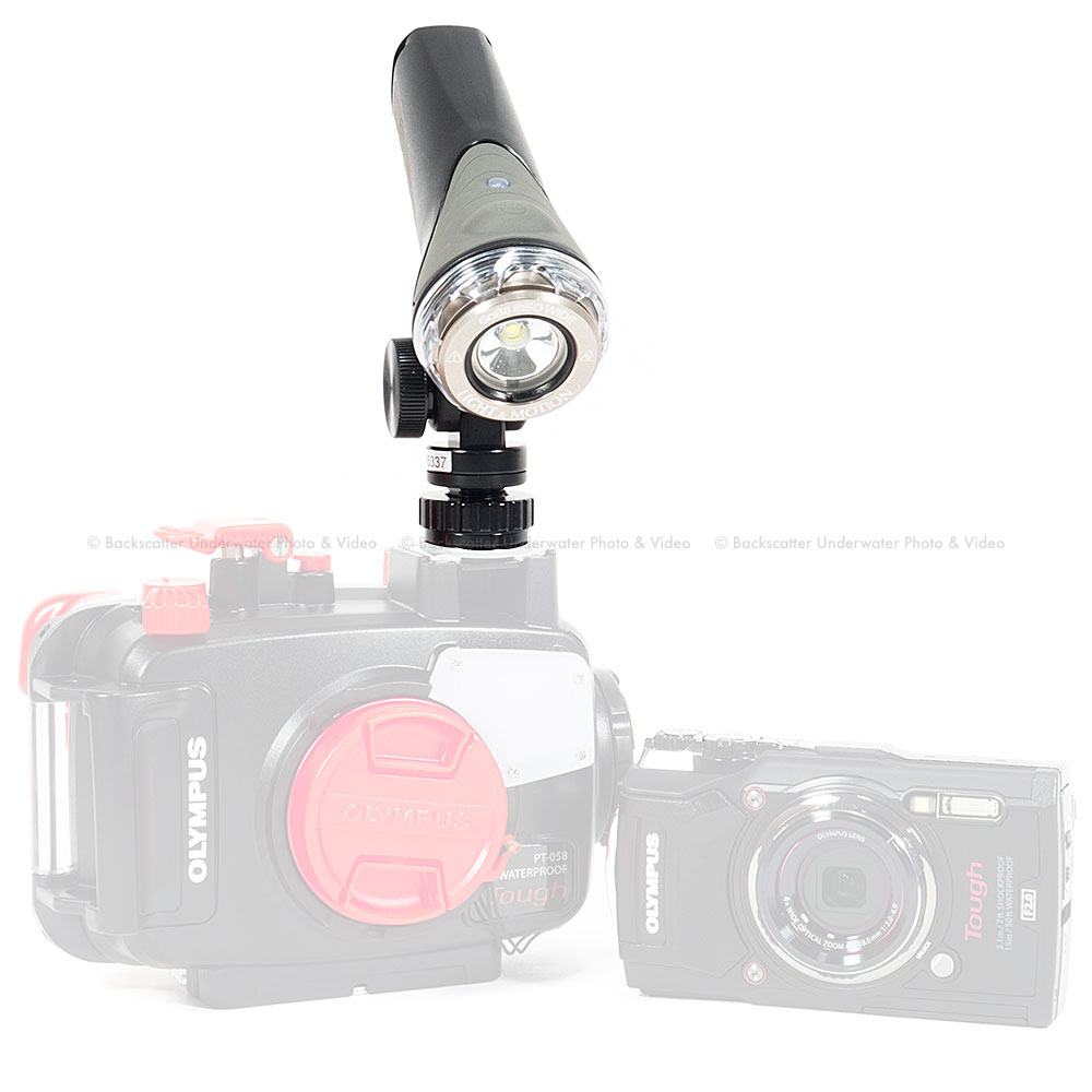 Olympus TG-5 Camera, Housing, and Video Light Simple Package