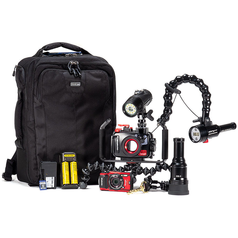 Olympus TG-6 Nudi Hunter Underwater Camera Package