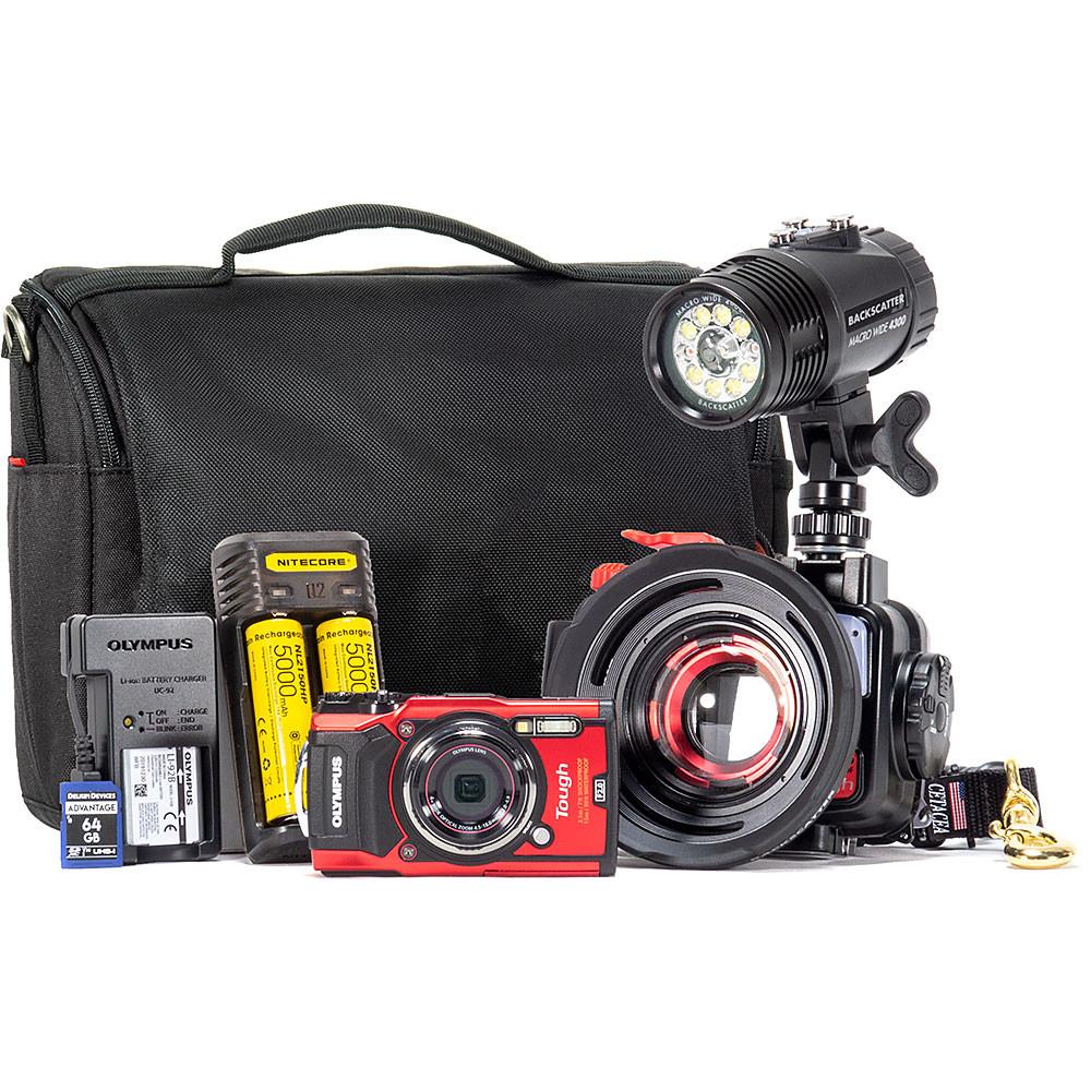 Olympus TG-6 Minimalist Underwater Camera Package