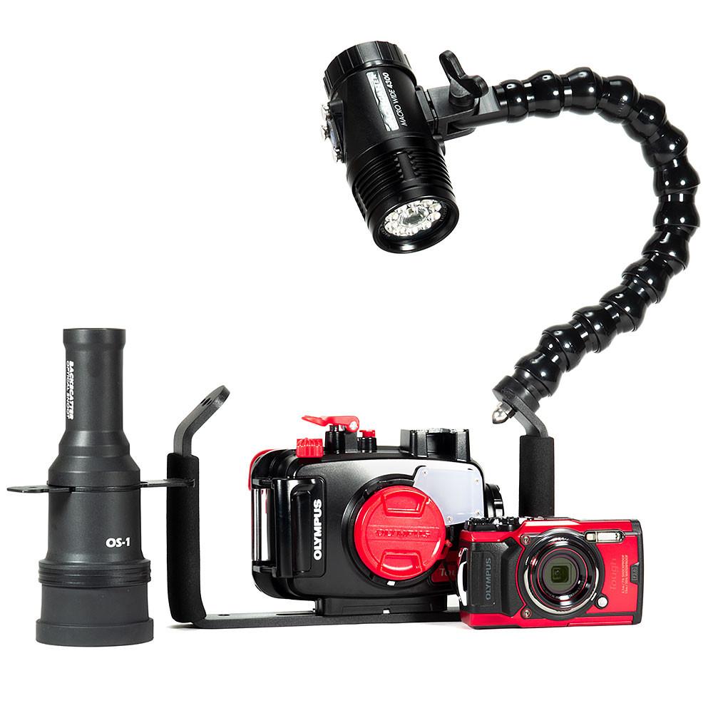 Olympus TG-6, Single Macro Wide 4300, & Snoot Underwater Video Package