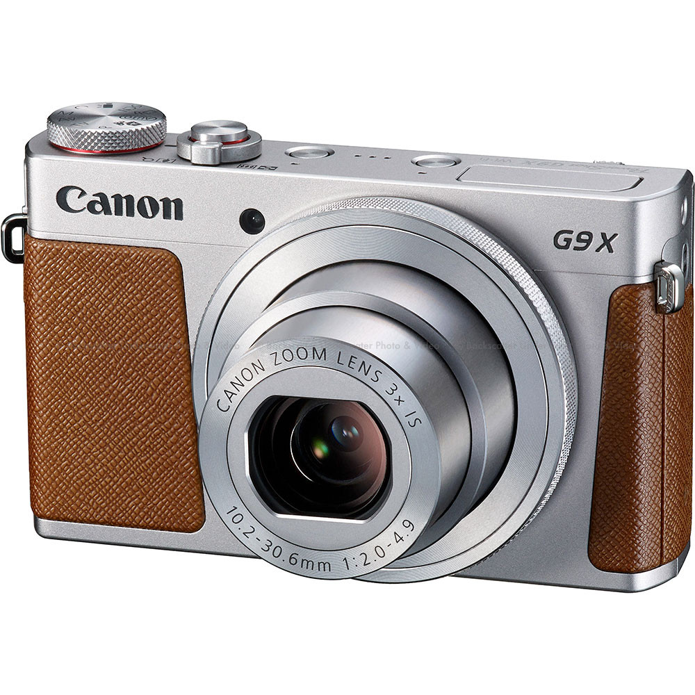Canon PowerShot G9 X Compact Camera - Silver