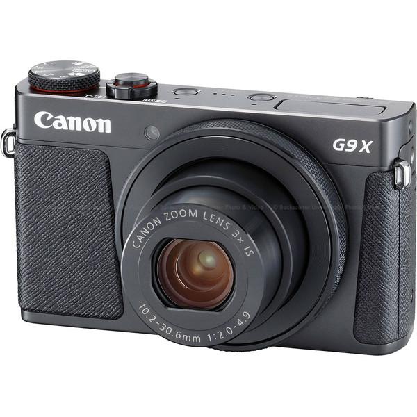 Canon PowerShot G9 X Mark II Compact Camera - Black