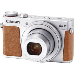 Canon PowerShot G9 X Mark II Compact Camera - Silver