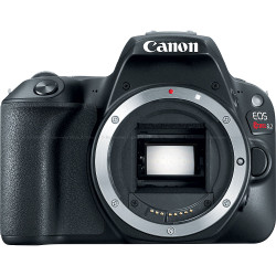 Canon EOS Rebel SL2 200D DSLR Camera Body Only - Black