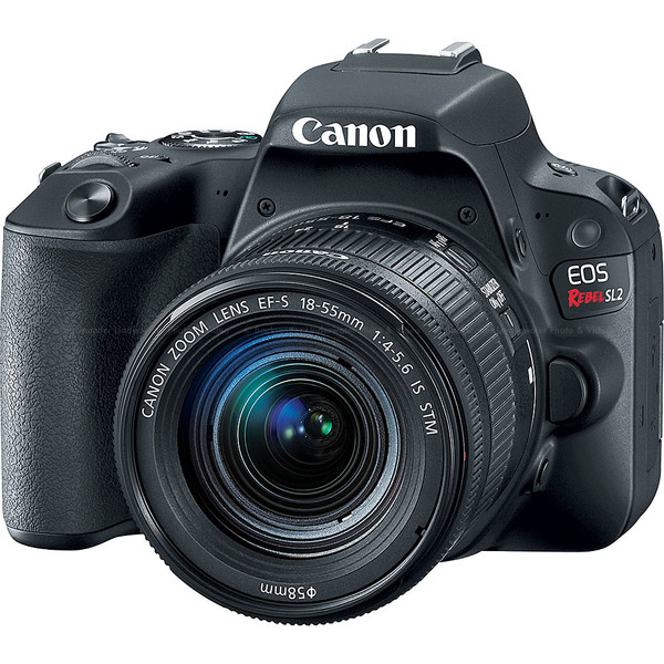 Canon EOS Rebel SL2 200D DSLR Camera with EF-S 18-55mm f/4-5.6 Lens Kit