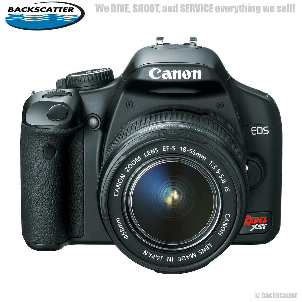 Canon Eos Digital Rebel Xsi 450d Camera W 18 55 Lens