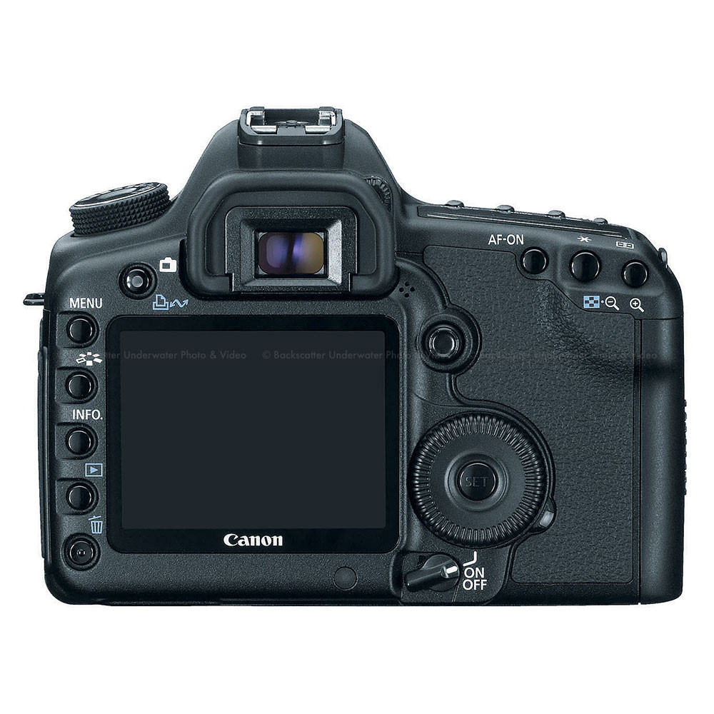 Canon eos 5d mark ii camera body backscatter for Canon 5d mark i