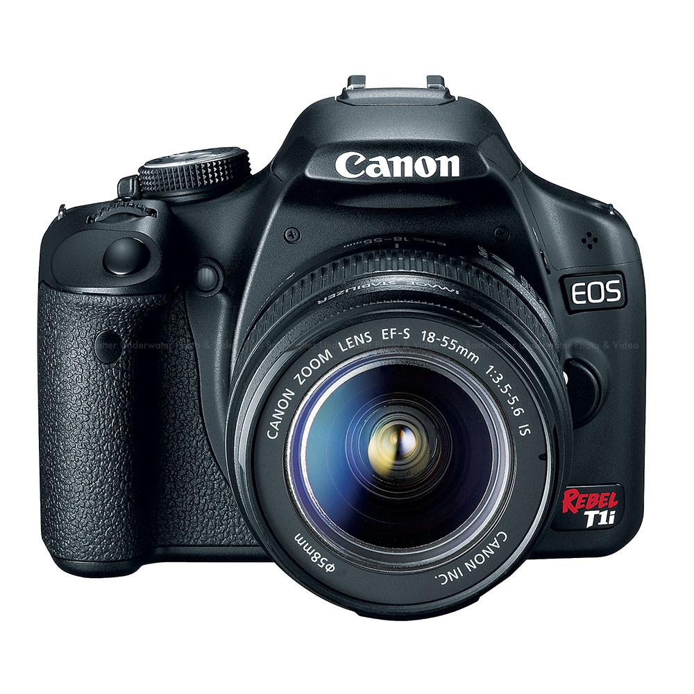 canon eos digital rebel t1i camera kit w 18 55 mm lens. Black Bedroom Furniture Sets. Home Design Ideas
