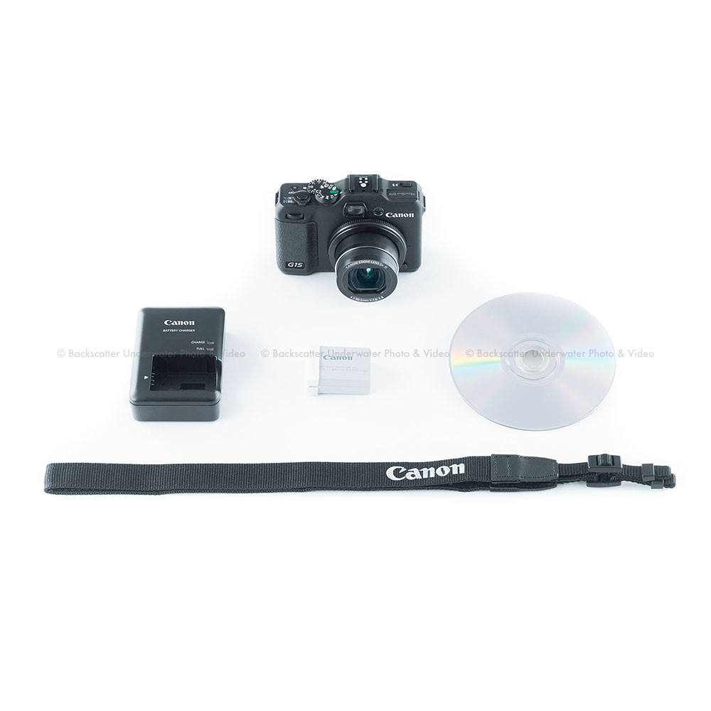 Canon powershot g15 camera kit for Housse canon g15