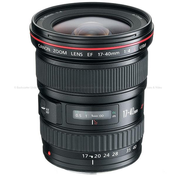 Canon EF 17-40mm f/4L USM Wide Angle Zoom Lens