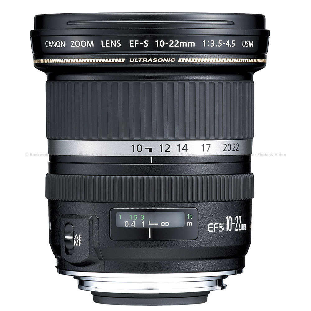 Canon EF-S 10-22mm f/3.5-4.5 USM Wide Angle Zoom Lens