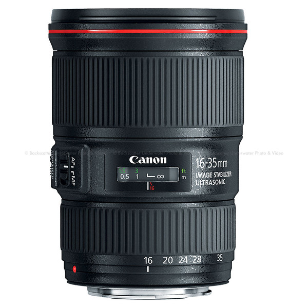 Canon EF 16-35mm f/4L IS USM Ultra Wide Zoom Lens