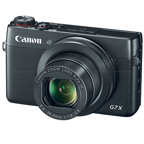 Canon PowerShot G7 X Compact Camera