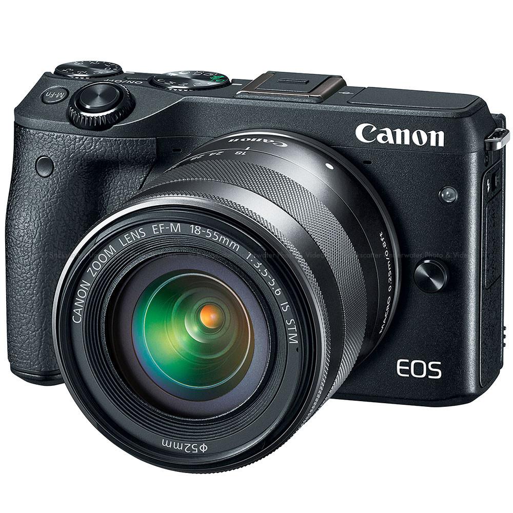 Canon EOS M3 EF-M 18-55mm IS STM Kit Black