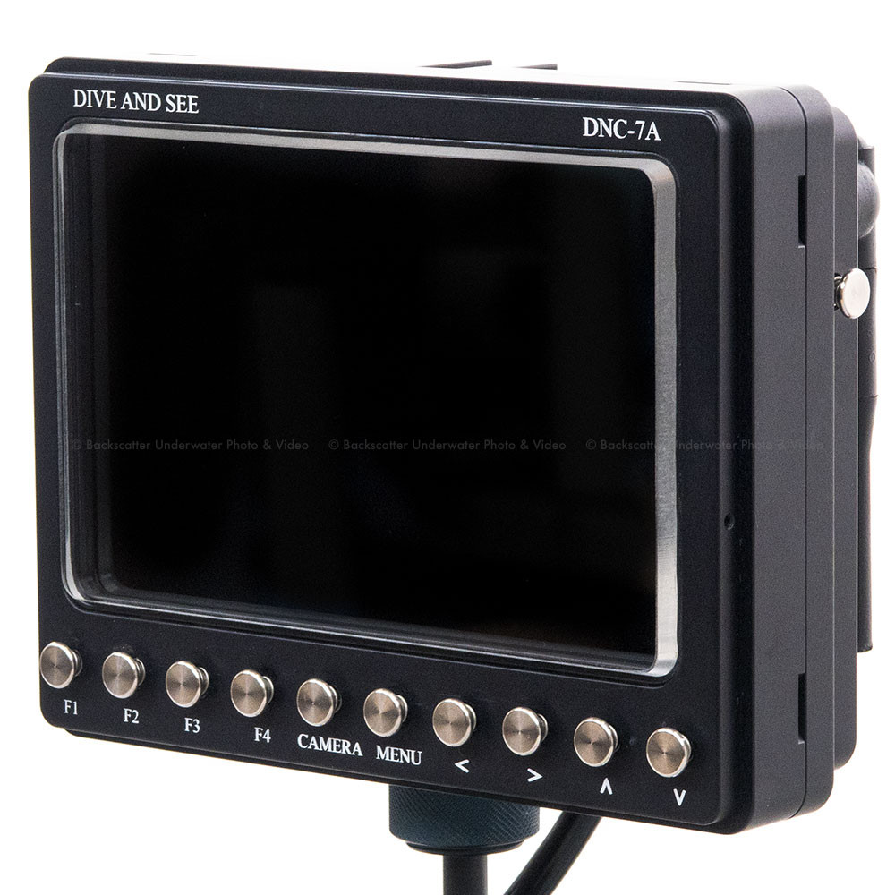Dive and See DNC-7A (H1) 7 inch Monitor & Housing with HDMI Input & Output
