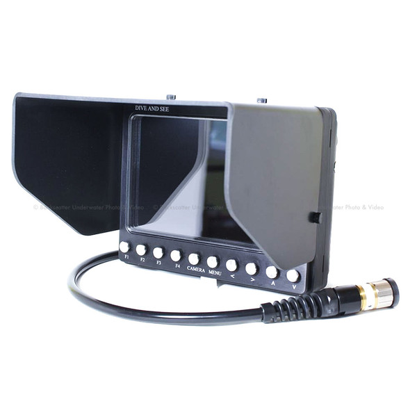 Dive and See DNC-7A (H2) 7 inch Monitor & Housing with HDMI Loop Through Input & Output