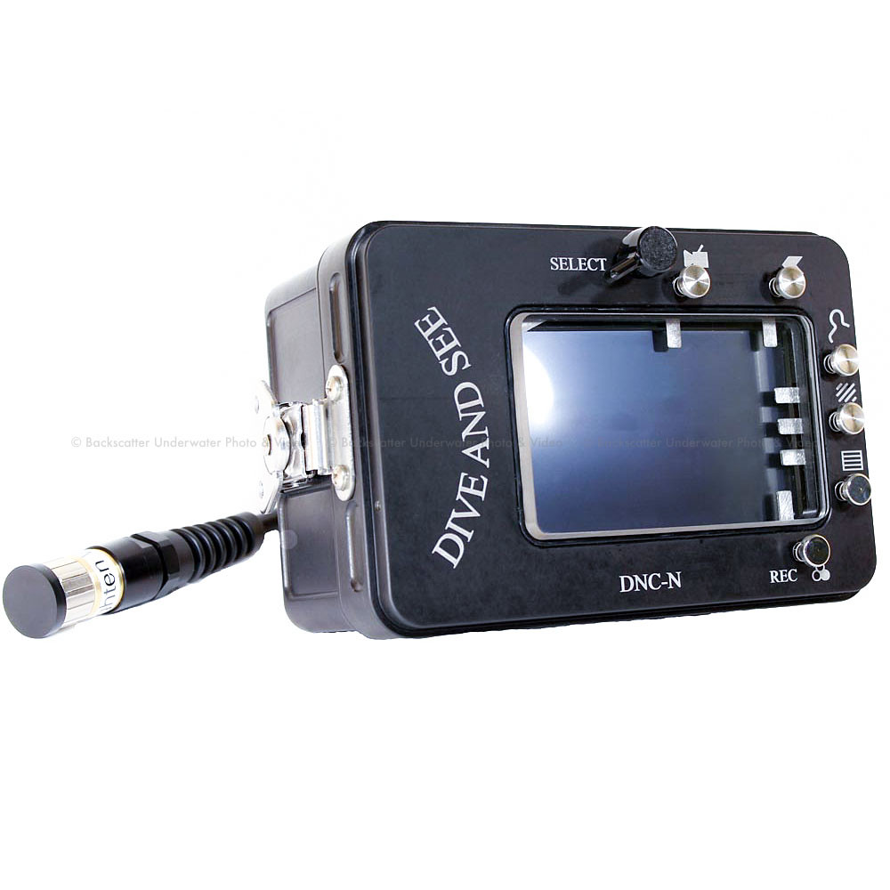 Dive & See DNC-N Underwater housing for Atomos Ninja-2 recorder and monitor
