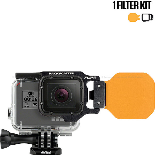 FLIP6 Single Filter Kit with Dive Filter
