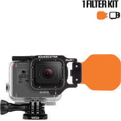 FLIP7 One Filter Kit with DIVE Filter for GoPro 3, 3+, 4, 5, 6, 7