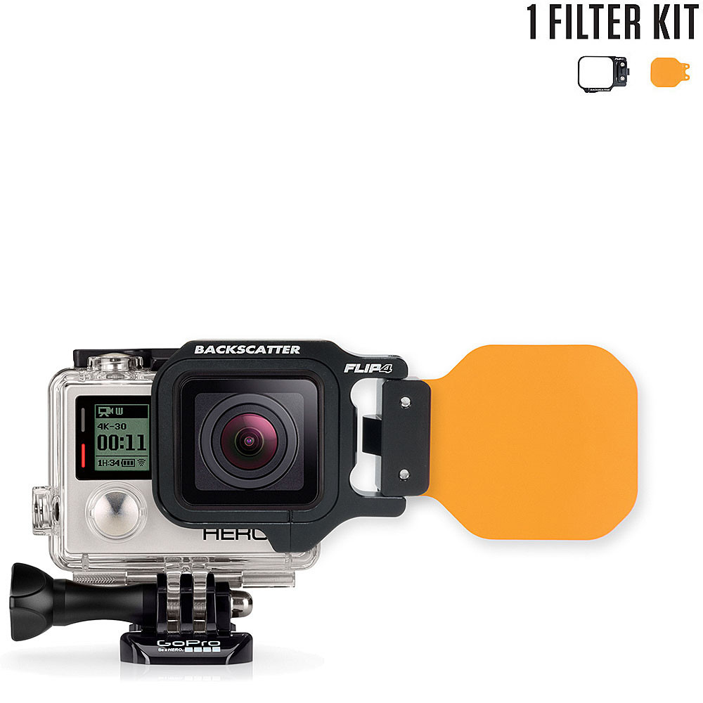 FLIP4 Single Filter Kit with Dive Filter