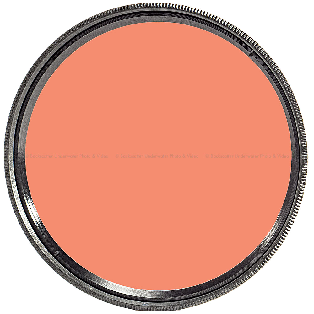 FLIP FILTERS 55mm Threaded SHALLOW Underwater Color Correction Red Filter for GoPro 3, 3+, 4, 5