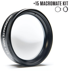 +15 MacroMate Mini Underwater Macro Lens for GoPro 3, 3+, 4, 5, 6, 7, 8