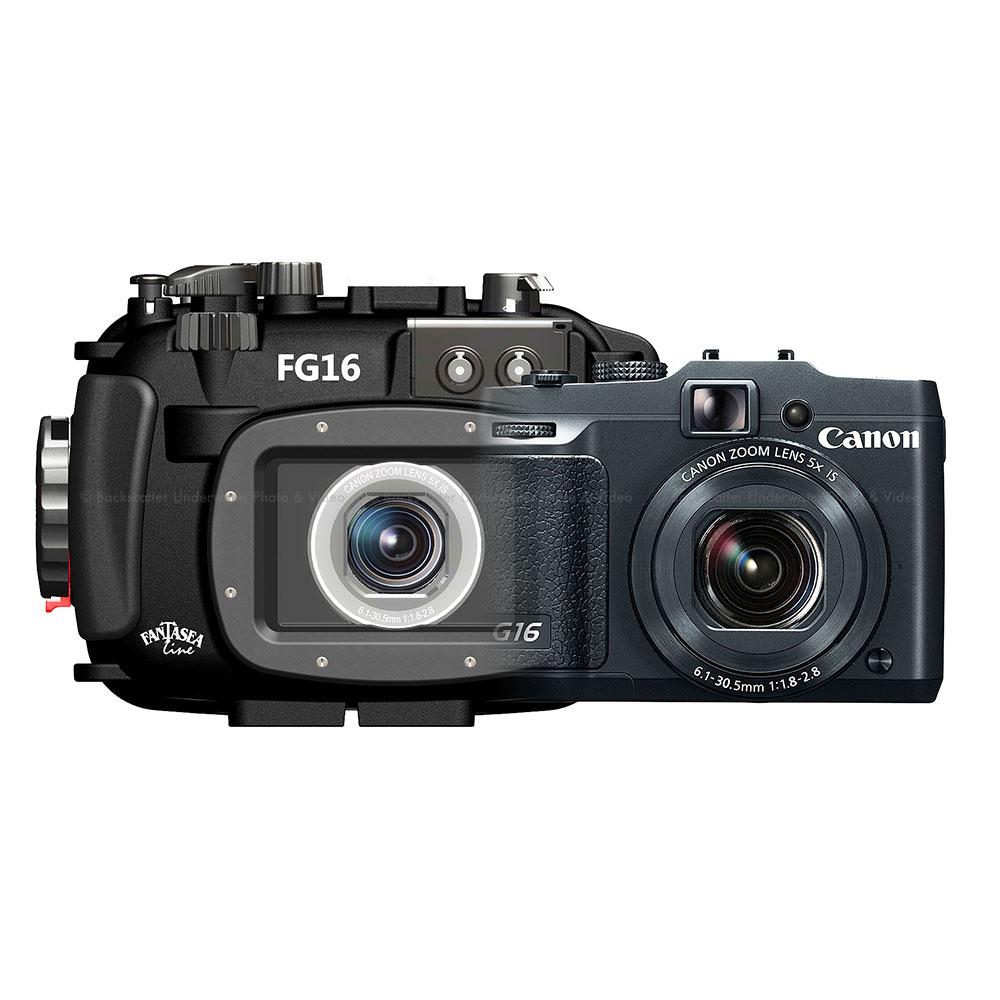 Fantasea FG16 Housing & Canon G16 Camera Set