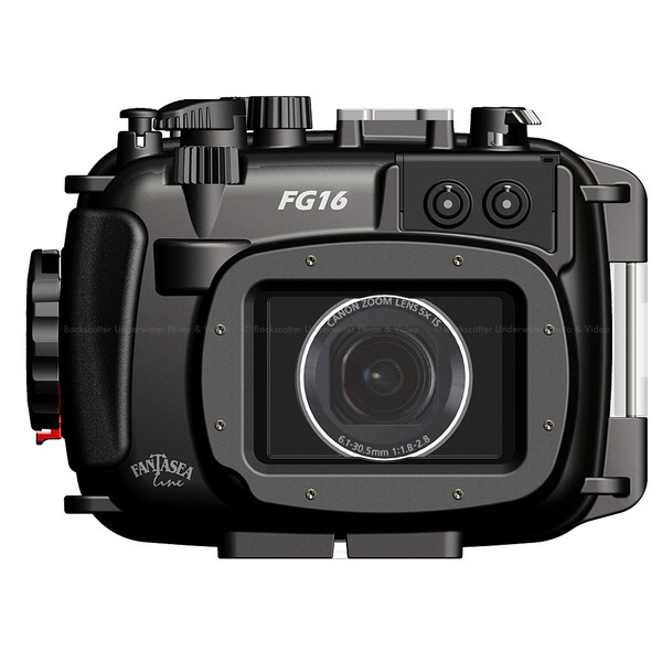 Fantasea FG16 Underwater Housing for Canon G16 Camera