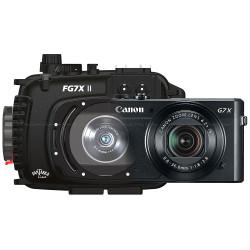Fantasea FG7X II Underwater Housing & Canon G7 X Mark II Compact Camera Bundle