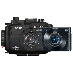 Fantasea FG9X Underwater Housing and Canon G9 X II Camera Set