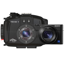 Fantasea FRX100 V Underwater Housing and Sony RX100 V Camera Set