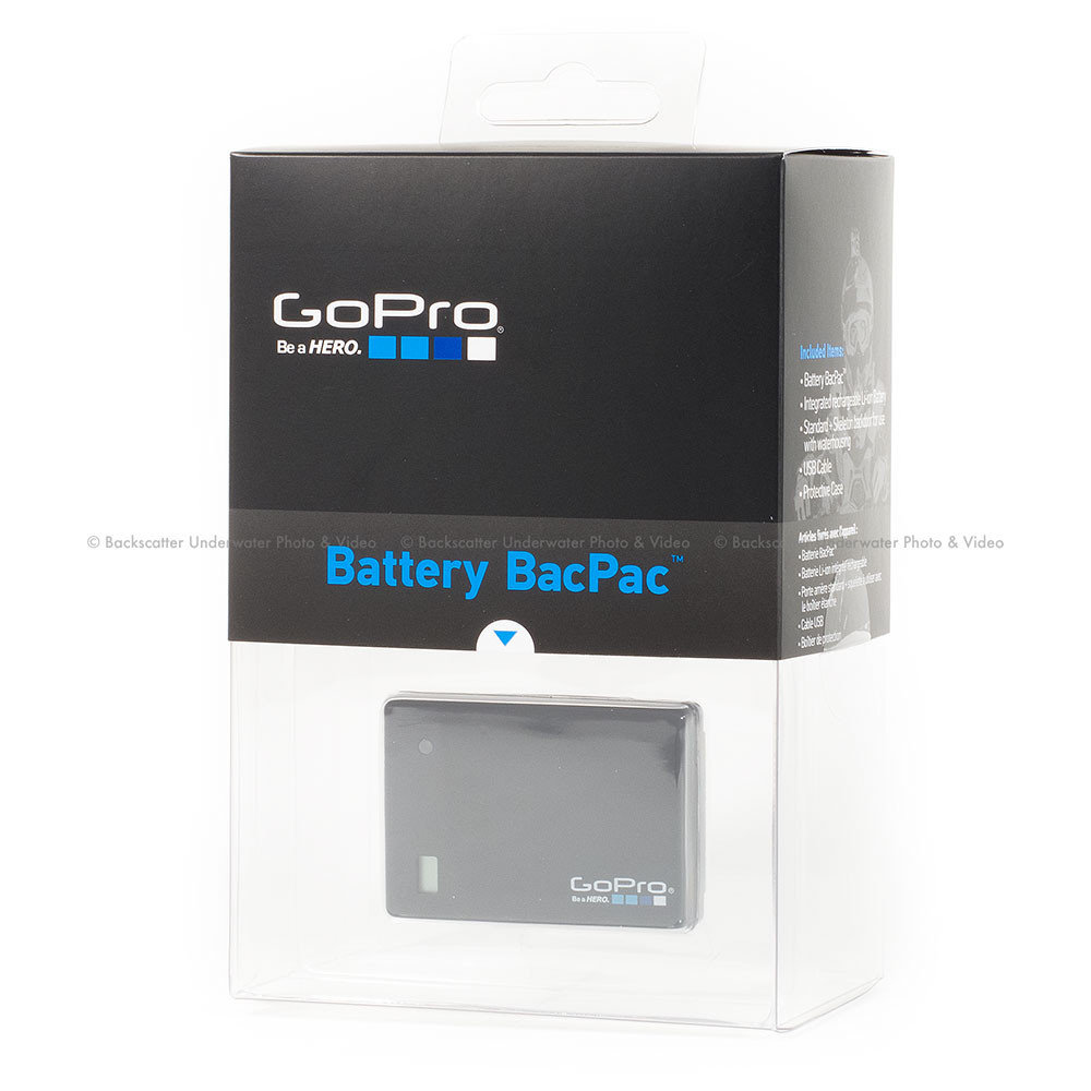 gopro hd hero expanded battery bacpac for hero 2 hero 3. Black Bedroom Furniture Sets. Home Design Ideas