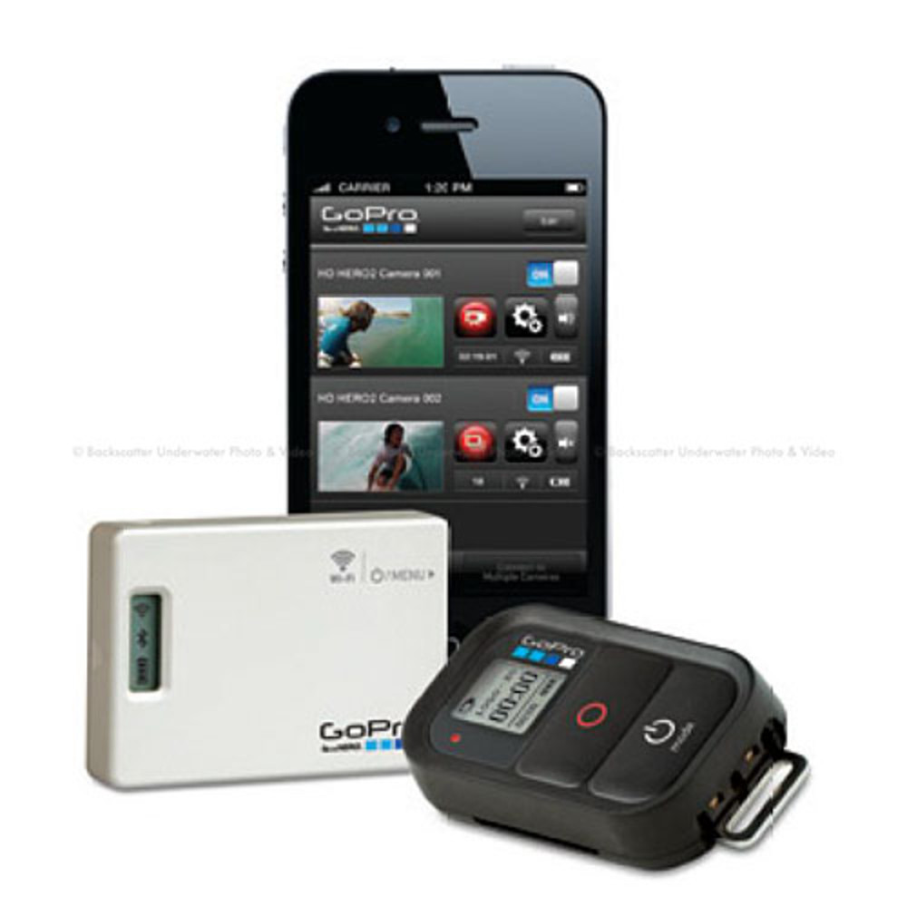 how to use gopro wifi remote