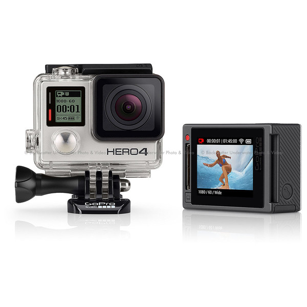 GoPro HERO4 Silver Adventure Edition Action Video Camera - Backscatter