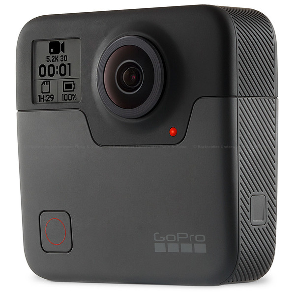 GoPro Fusion 360-Degree Action Camera