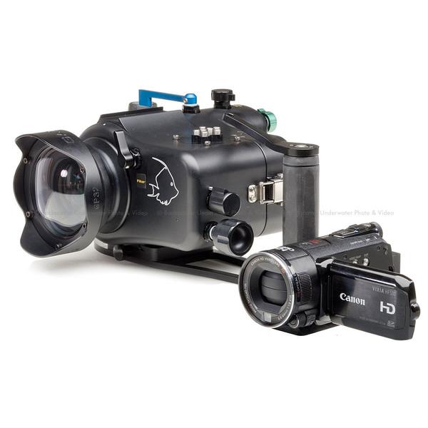 Gates Housing for Canon HF-S100, HF-S10 & HF-S11 Cameras</b>